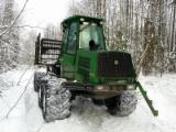Skidding - Forwarding, Forwarder, John Deere