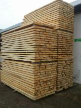 Hardwood  Unedged Timber - Flitches - Boules FSC - Loose, Lime Tree (Linden), FSC