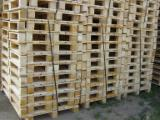 Pallets – Packaging Lithuania - Half Pallet, New