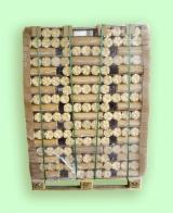 Briquettes/holzbriketts/Bûchettes de bois compressé