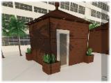 Composants En Bois, Moulures, Portes Et Fenêtres, Maisons Afrique - Cabine