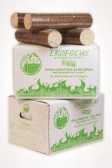 Pellets - Briquets - Charcoal, Wood Briquets, Beech (Europe)