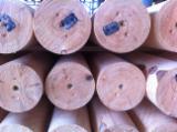 machine rounded posts, Pine (Pinus sylvestris) - Redwood