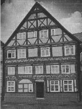 Half-timbered facade restoration