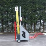 tagliapacchi / intestatrice tronchi / Elettrosega a carrello CMS EC/120 (1200x1200) per elementi per pallet