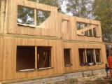 Wood Houses - Precut Timber Framing -  Houses made of natural wood