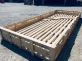 Skrzynia drewniana transportowa, paleta nietypowa, skrzynia przemyslowa
