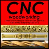 Woodworking - Treatment Services - CNC Machining (3 & 4-axis rotary 360 degrees) -milling 3D, 2D cutting, nesting, CNC turning