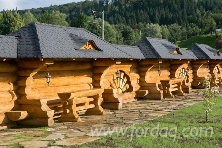 Case Di Tronchi Canadesi : Case in tronchi di legno italia chalet in legno prefabbricato