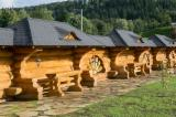 Wood Houses - Precut Timber Framing - Canadian Log House, Spruce (Picea abies) - Whitewood