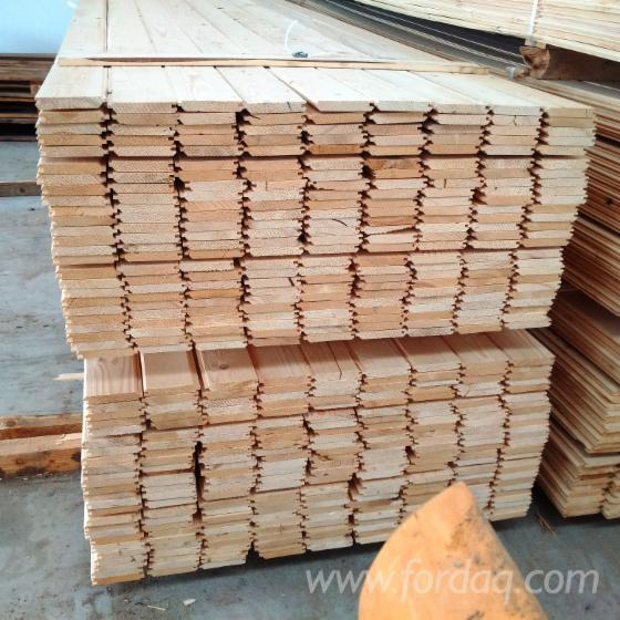 Wholesale Spruce 16; 18 mm Interior Wall Panelling from Romania