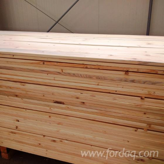 Spruce Interior Wall Panelling from Romania