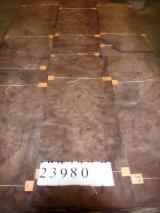 Лущений Шпон - Горіх (Американський Чорний), Лущений, з деревини з напливами
