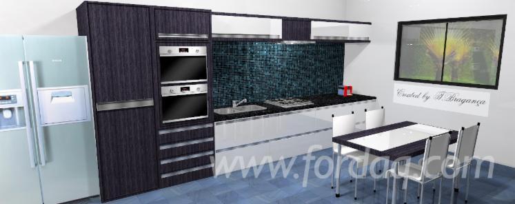 vendez armoires de cuisine contemporain autres mat riaux. Black Bedroom Furniture Sets. Home Design Ideas