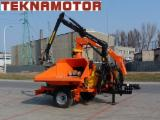 Poland Woodworking Machinery - Wood chipper, drum - Skorpion 500 RB - Teknamotor