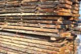 Hardwood  Unedged Timber - Flitches - Boules - Unedged Oak timber
