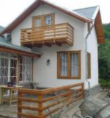 Wood Houses - Precut Timber Framing - Wooden houses, ecological, anywhere in the country, 150 euro / sq.m