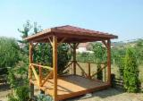 Buy Or Sell Wood Kiosk - Gazebo - Fir (Abies alba, pectinata), Kiosk - Gazebo