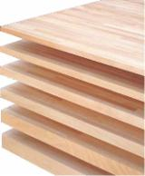 Edge Glued Panels Discontinuous Stave Finger-joined For Sale - Sweet chestnut finger joint panels