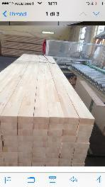 Edge Glued Panels Oak European Discontinuous Stave Finger-joined For Sale - Solid wood panel, Oak (European)