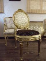 Meubles et Produits de Jardin - Chaise de salle à manger classique dans le mobilier français d'Egypte