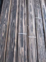 Струганий Шпон - Натуральний шпон, Macassar, Шпон струганий, негладкий