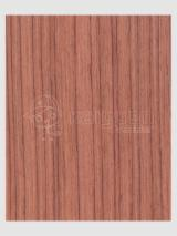 Engineered Veneer, Bubinga (Kevazingo, Akume), Flat cut, plain