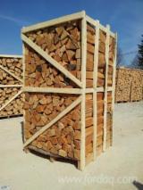 Energie- und Feuerholz - Buche Brennholz Gespalten 8-25 mm