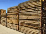 Hardwood Lumber And Sawn Timber For Sale - Register To Buy Or Sell - Oak Railway Sleepers 10 cm