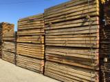 Hardwood  Sawn Timber - Lumber - Planed Timber For Sale - Oak Railway Sleepers 10 cm