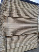 Hardwood  Sawn Timber - Lumber - Planed Timber - Oak (Red) edged timber