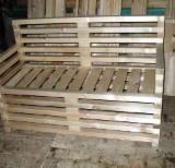 Garden Furniture - Contemporary Fir (Abies alba, pectinata) Garden Sets Romania