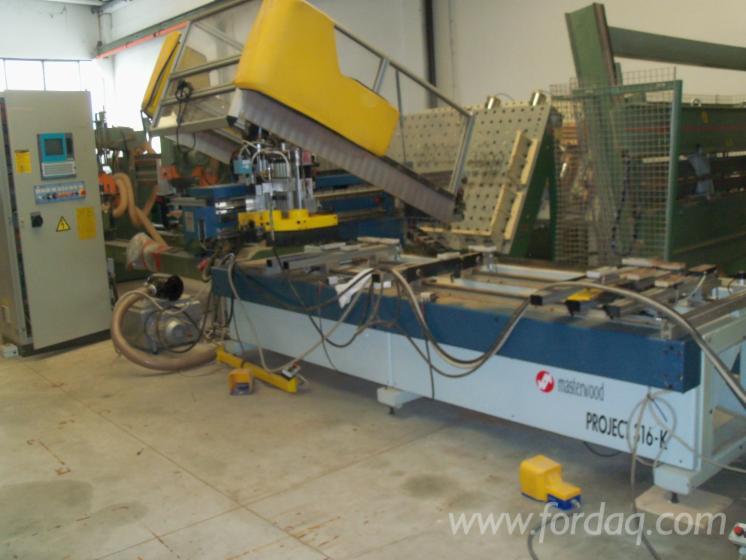 Used 1996 MASTERWOOD PROJECT 316-K CNC machining center For Sale in ...