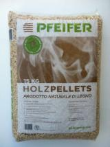 Wholesale  Wood Pellets Italy - SELL PELLET PFEIFER - ECOPLUS - CALORPELLET ALL CERTIFICATES ENPLUS A1 / A2