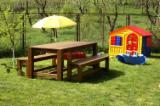 Europe Garden Furniture - Massive Wood Garden Furniture