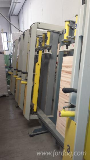 VERTICAL-PRESS-FOR-LAMELLAR-ELEMENTS-BRAN-TRIMWEX-MOD-