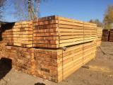 Siberian larch timber