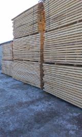 Laubholz  Blockware, Unbesäumtes Holz - Buche Schnittholz besaumt, ungedaempft