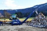 Bosexploitatie & Oogstmachines - Nieuw TAJFUN Zaag- En Splijtcombinatie Slovenië