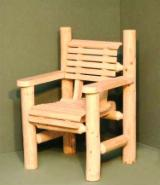 Garden Furniture - Traditional Fir (Abies Alba) Garden Chairs Romania