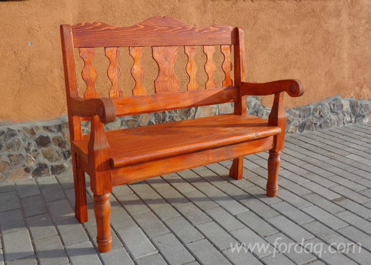Wholesale Art & Crafts/Mission Spruce (Picea Abies) Garden Benches Sibiu Romania