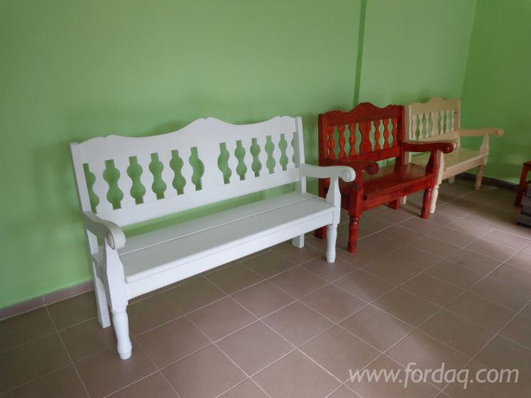 Art & Crafts/Mission Spruce (Picea Abies) Garden Benches Sibiu Romania