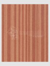 Sliced Veneer - Engineered Veneer, Teak, Quartered, plain