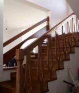 Wood Stairs Spruce Picea Abies - Whitewood For Sale Romania - Hardwood (Temperate), Stairs, Oak (European)