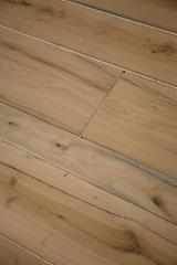 Briccola wood flooring (oak taken from the pales of Venice's Lagoon)