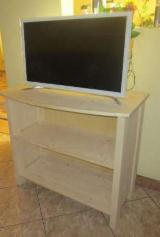 TV Furniture And Entertainment Centers - TV Stands Contemporary Spruce (Picea Abies) - Whitewood Entertainment centers