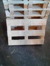 Pallets – Packaging Spruce Picea Abies - Whitewood - Half Pallet, Any