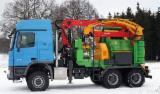 Forest & Harvesting Equipment - Mobile chipper, working machine for cutting and woodworking type Heizohack 14-800 KL