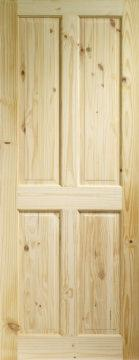 solid pine door