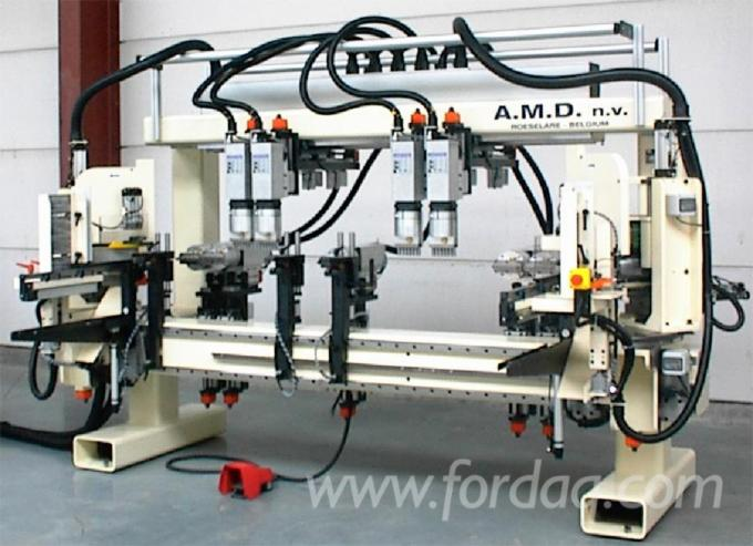 Machine-for-the-sawing--drilling--milling
